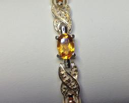 2002 Citrine Bracelet in Sterling