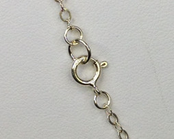 148B Flat Cable Sterling Chain 1