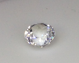 1001 10mm White Topaz Round Gem A
