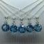 Sky Blue Topaz Bridesmaid gift