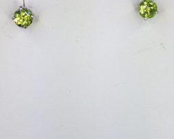 Peridot Arizona Sterling Silver Earrings
