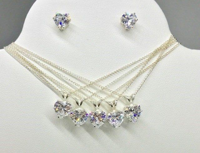 Bridsmaid Pendant & Earrings set
