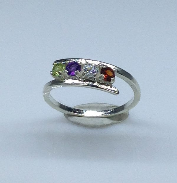 Mother's Ring in Sterling Silver