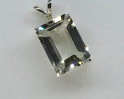 Jewelry, White Topaz from Colorado