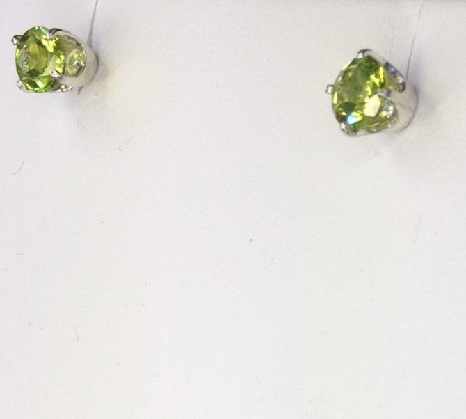 Peridot Sterling Earrings