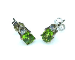 3024f Peridot CO 6x4 Oval 14WG Set