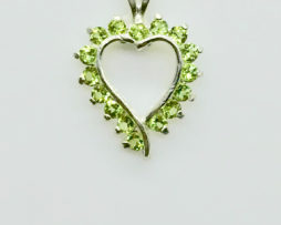 5323 Peridot CO Sterling Pendant