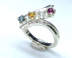 6091ee Mothers Ring 7 Sterling Ring