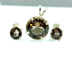 Smoky Quartz Colorado Sterling Silver