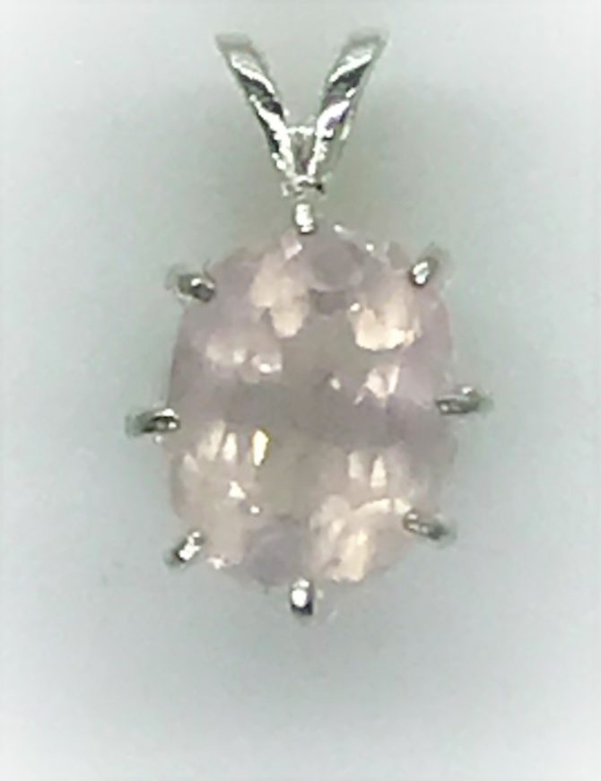 Oval Colorado Rose Quartz