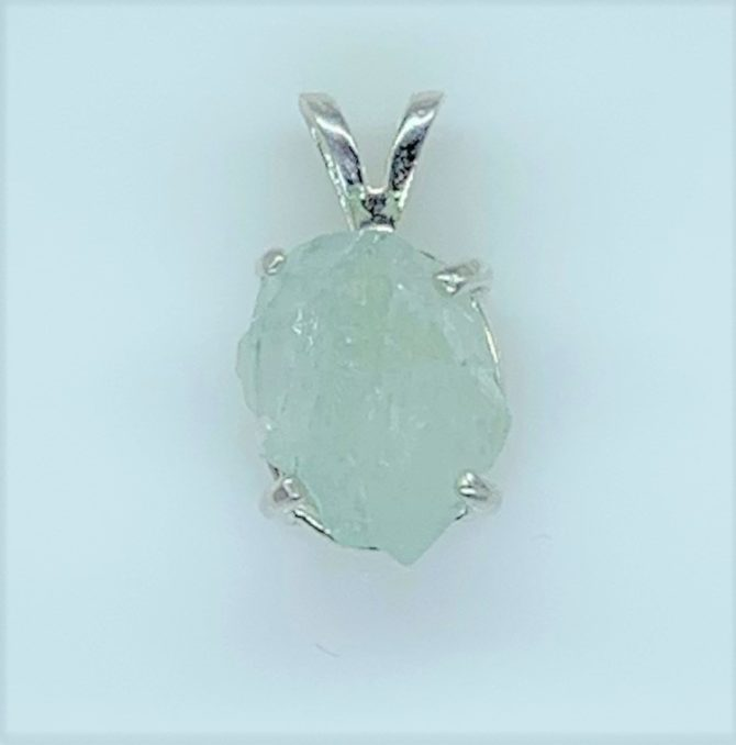 Natural Aquamarine Crystal from Mt. Antero
