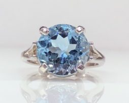 6152 Sky Blue Topaz Ring