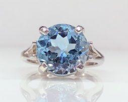 6152 Sky Blue Topaz Ring