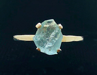 Aquamarine from Mt. Antero Colorado