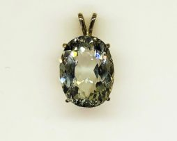 5426 Colorado Imperial Topaz in Sterling Silver Pendant